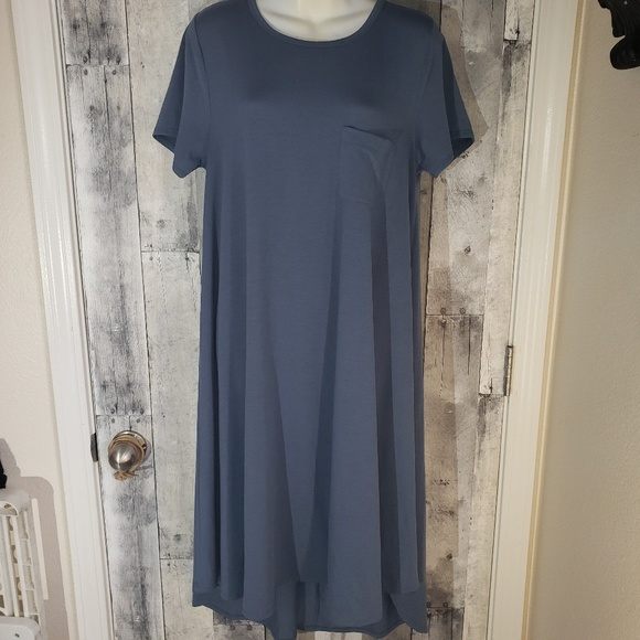 LuLaRoe Dresses & Skirts - Nwot Lularoe Carly shirt dress med 10/12